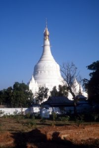 Ava pagoda, in pretty good shape for a deserted city ruin