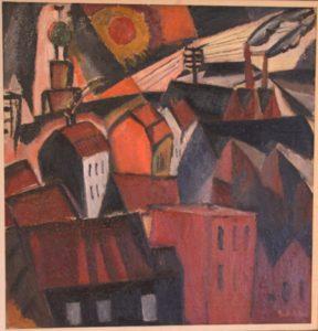"""Gustave de Smet: """"Townscape"""""""