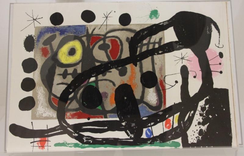 """Joan Miro: """"Derrière le Miroir"""""""
