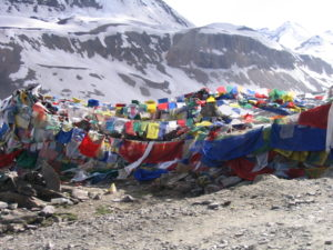 more prayer flags than plateau, sometimes (courtesy Gijs Remmelts)