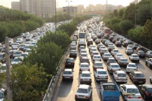traffic at an average hour on an average express way