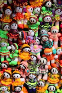 woollen dolls are an integral part of the tourist trade in Masuleh
