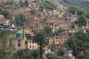 everybody has the same picture of Masuleh, steeply built against the mountain slope