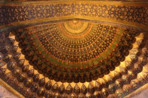 part of the ceiling