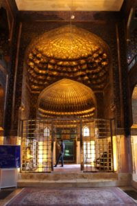 inside the mausoleum, the entrance hall