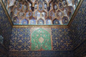 decorated ceiling and wall