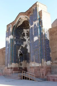 entrance of the Blue Mosque, or what remains of it