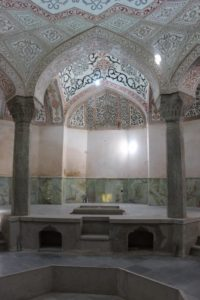 the main bathing room