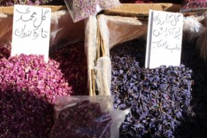 no Iranian village without bazaar, of course