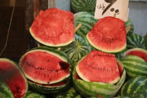 and for the colour: watermelons