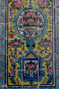 and some of the Qajar era tiles