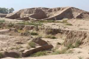 the Haft Tappeh site, a mud hump