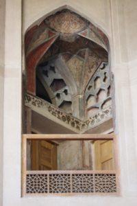 first floor balcony of the Kakh-e Hasht Behesht