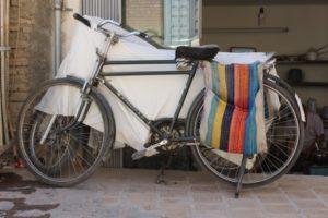 once more, saddle bag used on a bike