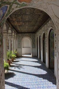 terrace of Kahn-e Zinat-ol-Molk