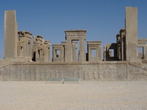 another part of Persepolis, with extensive bas-reliefs