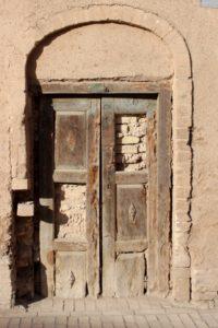 and an even older door