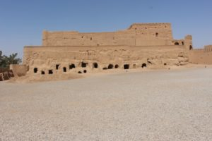the fort at Meybod