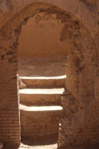 another doorway, in Meybod fort
