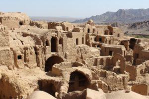 Kharanaq, the collapsed mud village