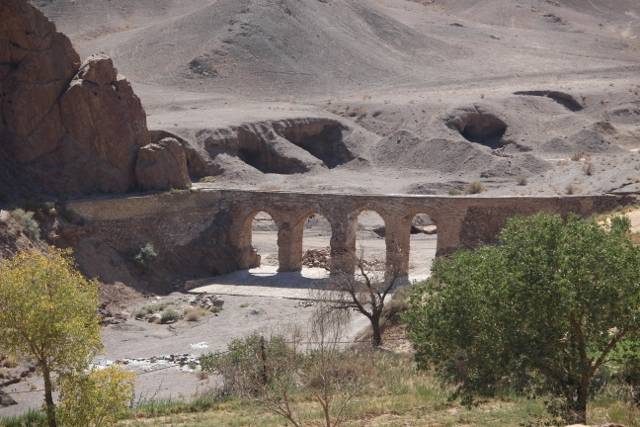 a nearby aquaduct