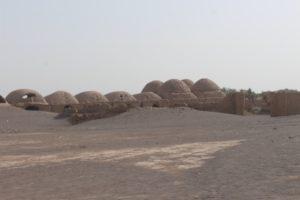 a desert village