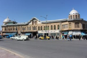 buildings along Iman Khomeiny square, central Hamadan