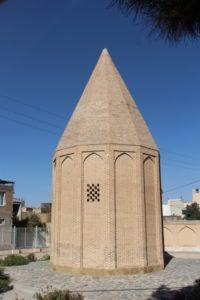 the far more inspiring, if simple, 13th C Seljuk Borj-e Qorban