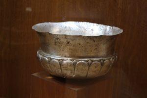 another Acheamenid artefact, a silver bowl