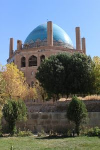 the Oljeitu Mausoleum in Soltaniyeh