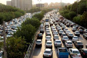 Tehran traffic, just like anywhere else