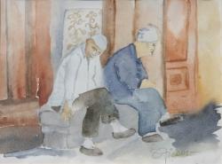 C01-03: Two men in Xinjiang