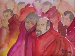 C02-02: Tibetan monks