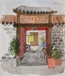C05-03: Courtyard, Beijing (3)
