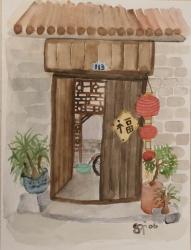 C06-01: Courtyard, Beijing (4)